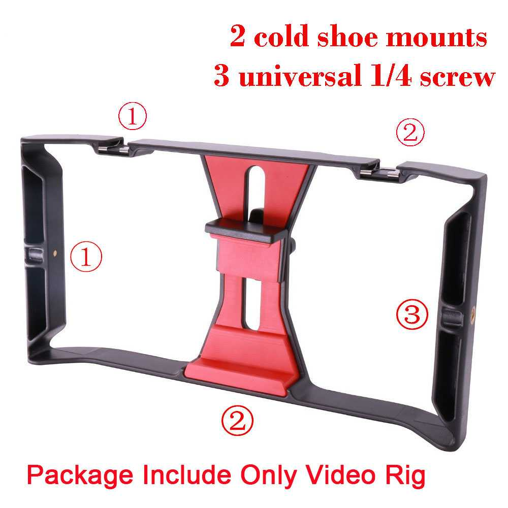 Smartphone Video Rig Case Electronics & Accessories Others Phone & Computer Accessories Ships From : EU|Russian Federation