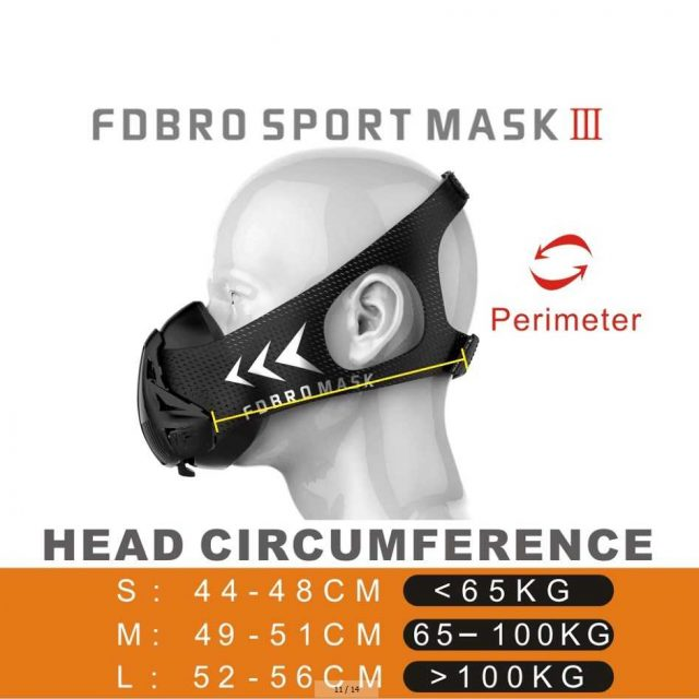Training mask fitness workout 3.0 Sports & Outdoors Ships From : EU|United States